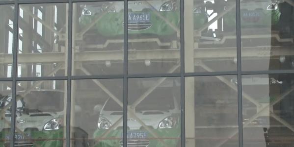 En Chine, un distributeur automatique de voitures électriques !