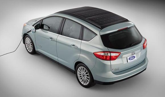 Ford lance une voiture solaire, la C-Max Solar Energi