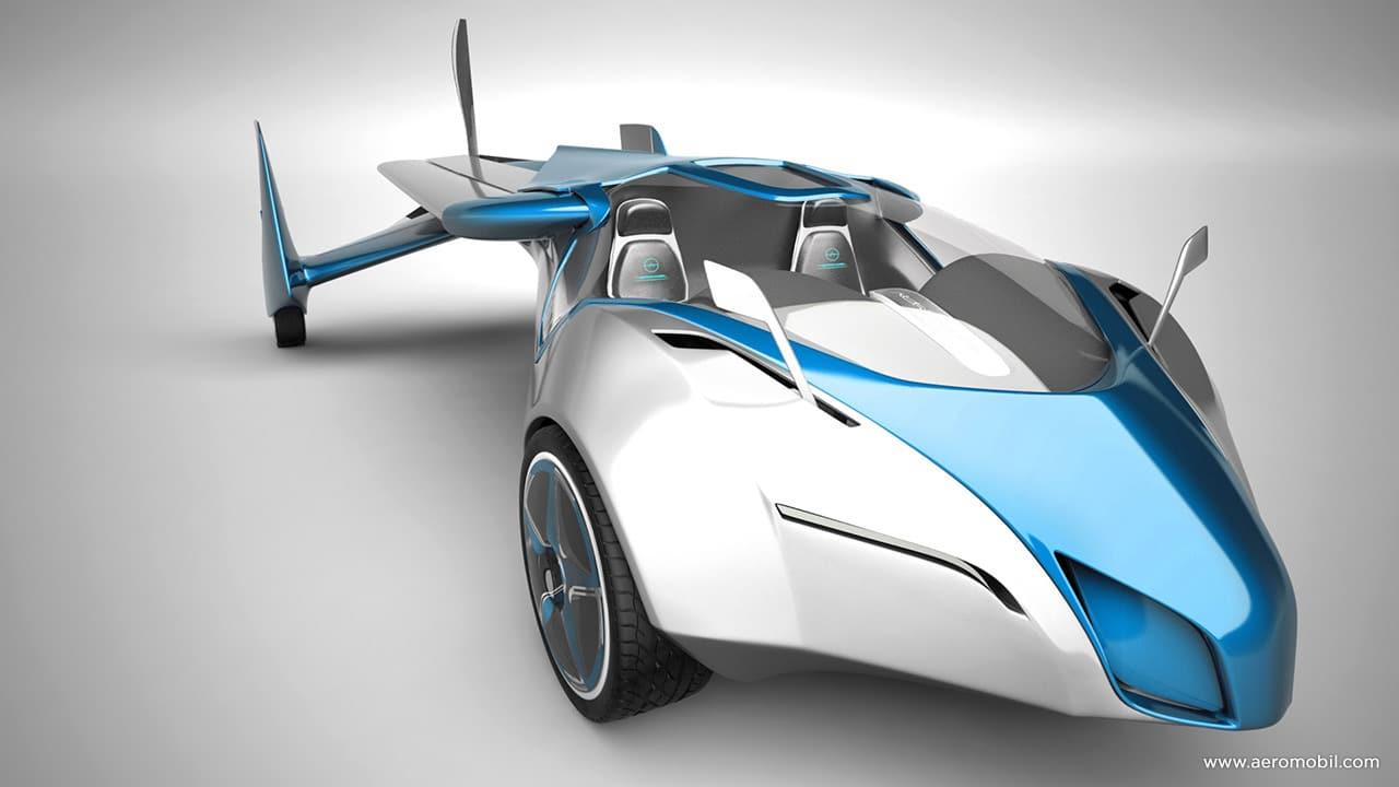 La voiture volante est arrivée : l'Aeromobil !