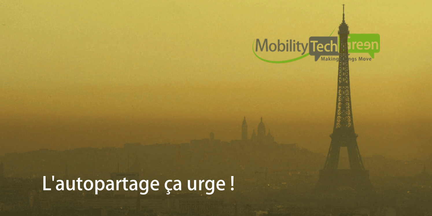 autopartage pollution