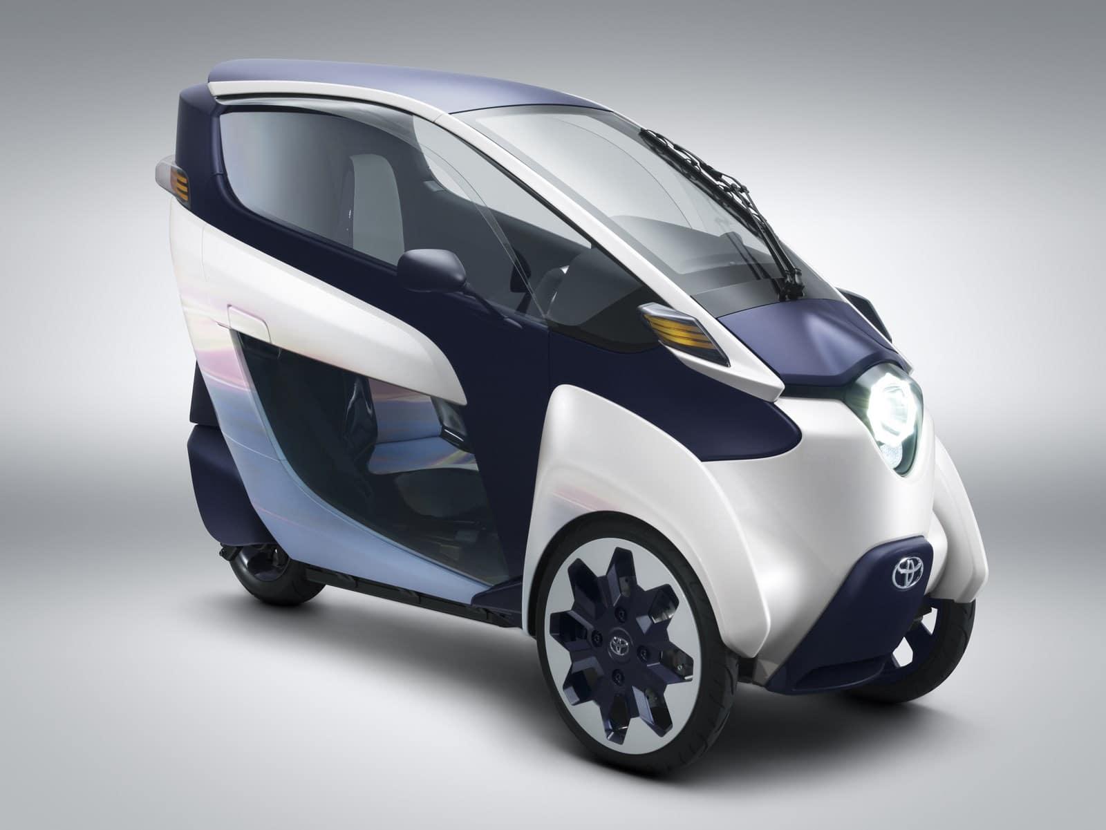 L'i-Road de Toyota au service de l'autopartage !
