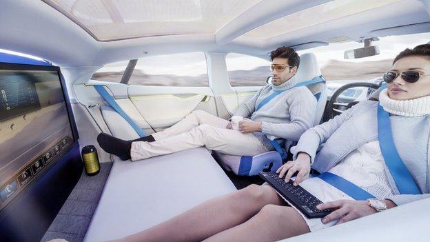 Un nouveau monde grâce à l'autopartage de voitures autonomes