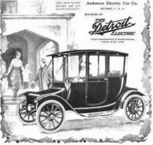 Anderson electric car company