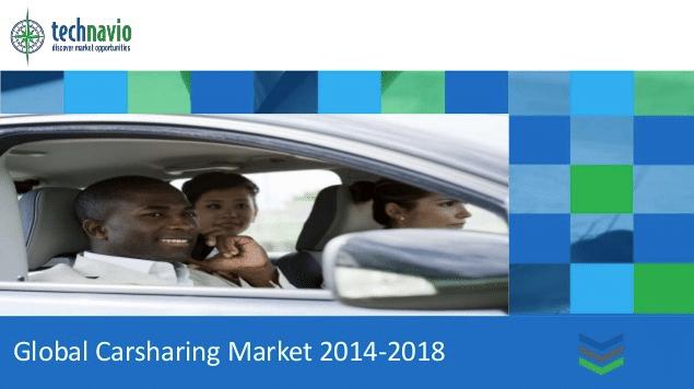 Le marché mondial de l'autopartage va connaître un taux de croissance annuel de 41,35% entre 2013 et 2018