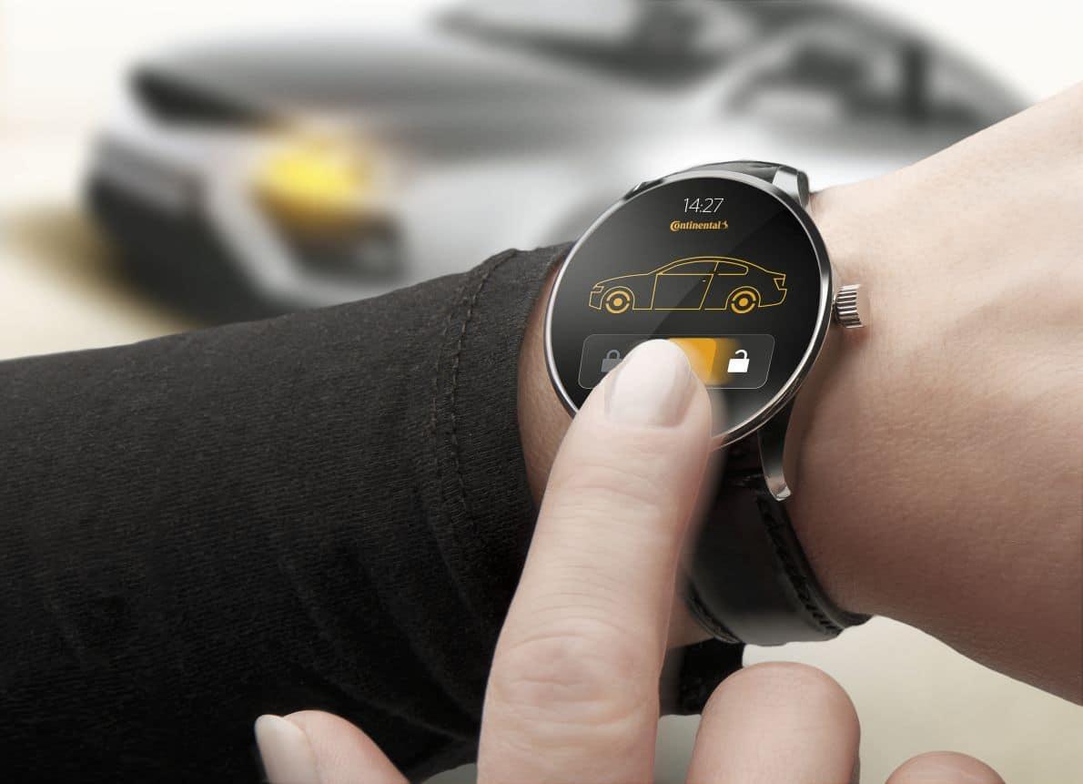 smartwatch voiture