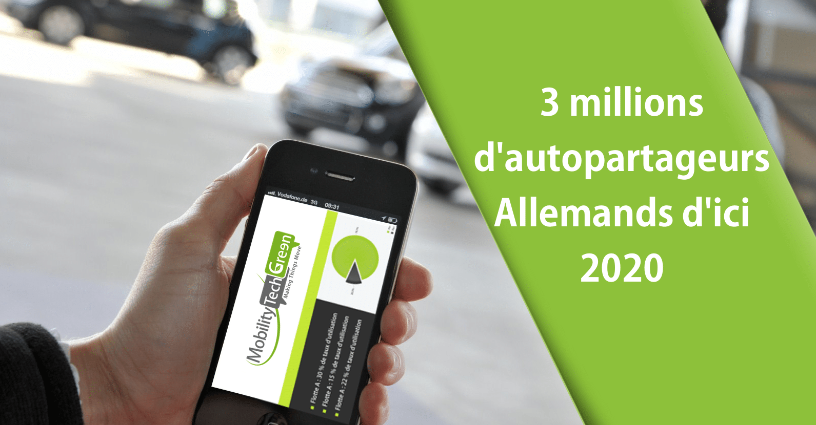Autopartage en Allemagne : un marché potentiel de 35 milliards d'euros par an
