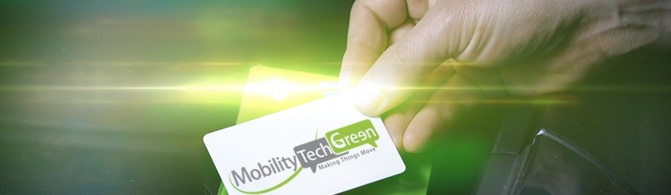 badge mobility tech green