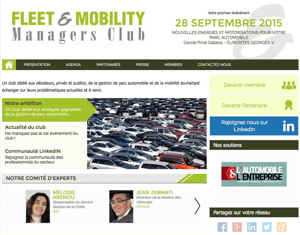 fleet & mobility managers club