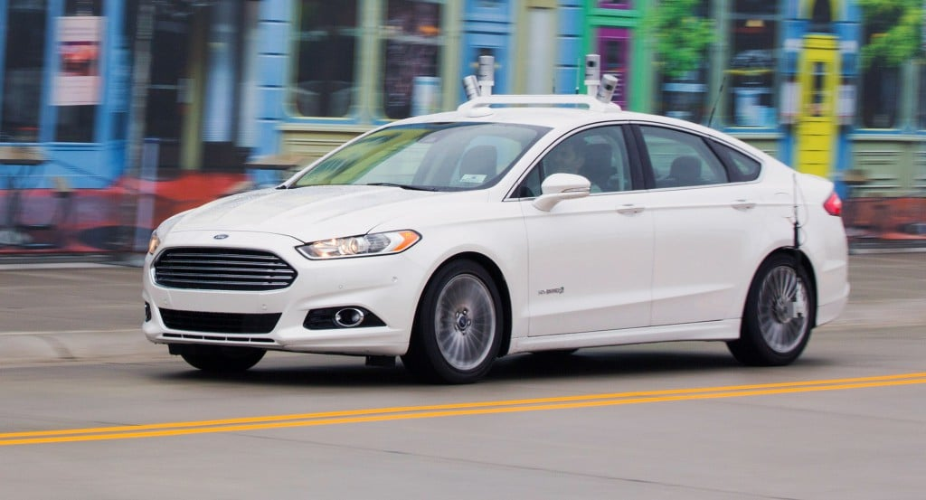 Ford is accelerating testing of its Fusion Hybrid Research Vehicle as the first automaker to test a fully autonomous vehicle at Mcity, the world's first full-scale simulated urban environment at University of Michigan.