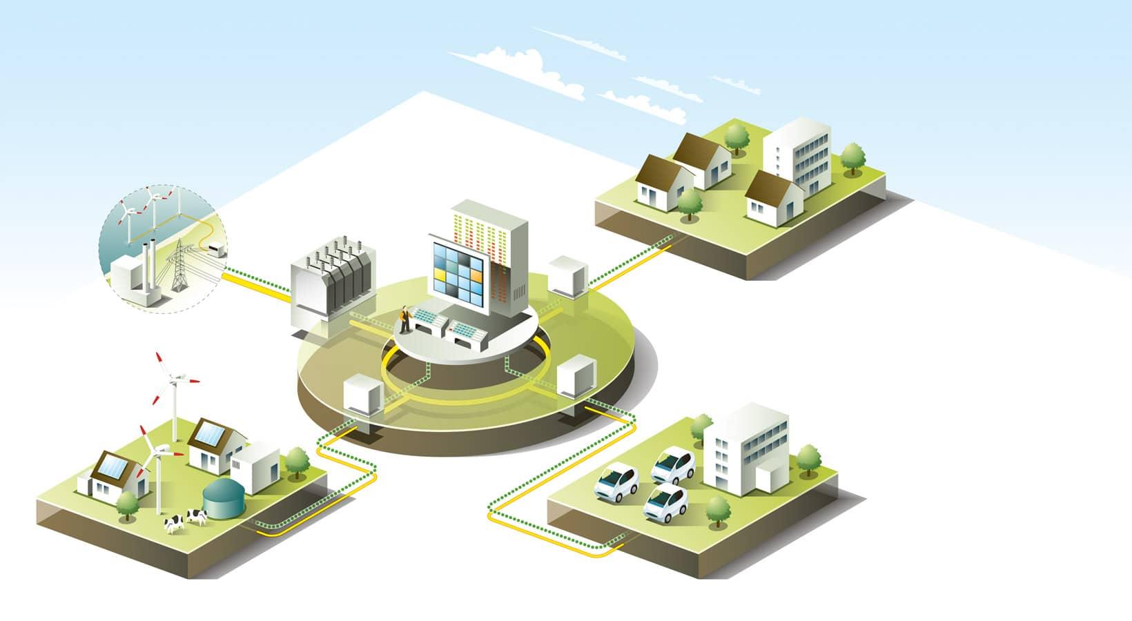 La Smart-Grid : une opportunité de taille pour l'autopartage électrique