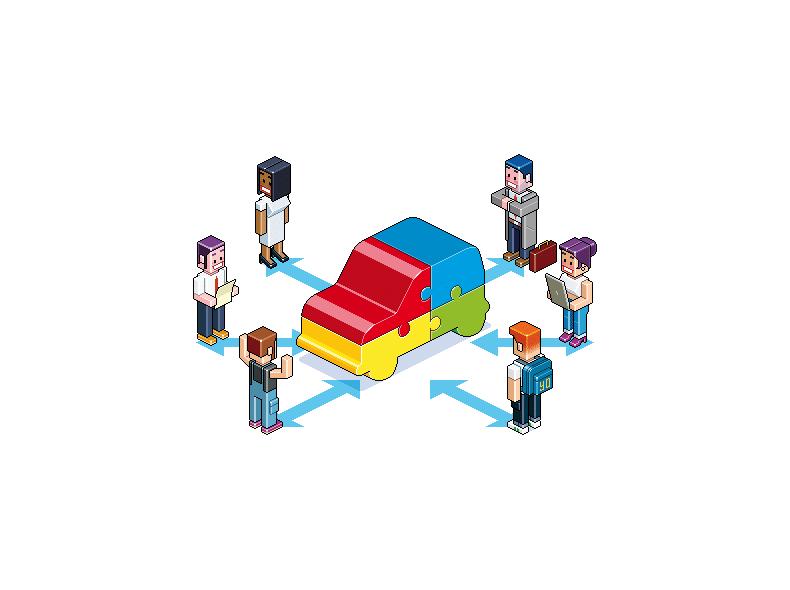 Les perspectives du marché de l'autopartage