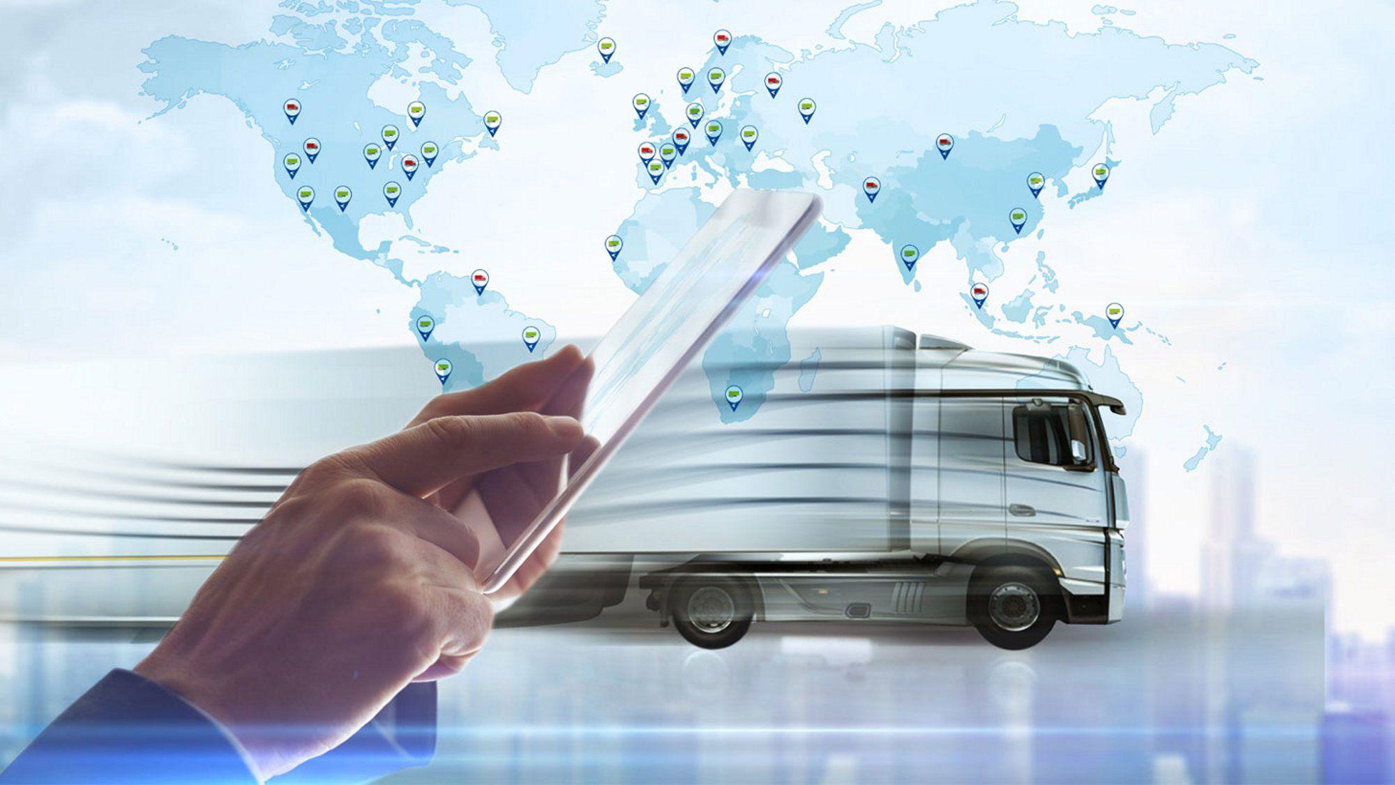 Solutions de gestion connectée : une augmentation de 25% dans les flottes de camions transporteurs