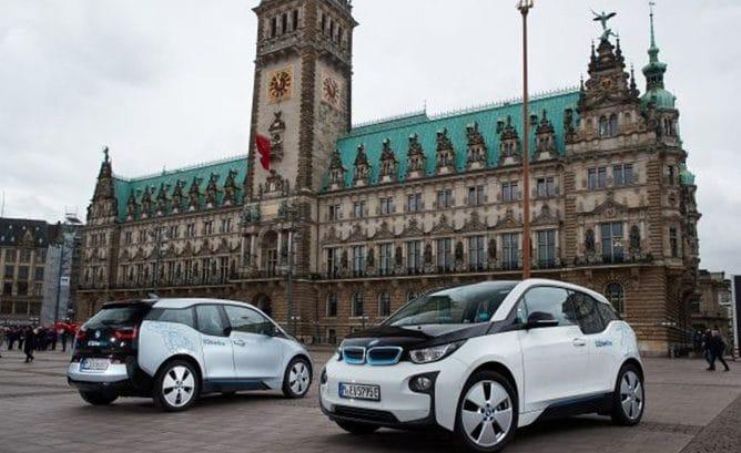 Autopartage Hambourg - BMW