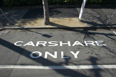 Parking autopartage