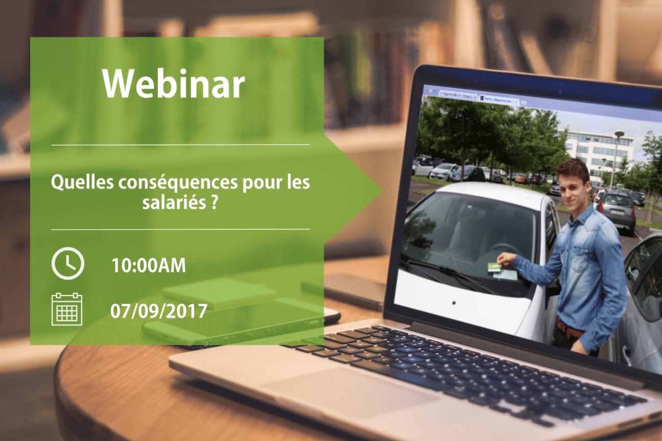 Webinar autopartage : quelles conséquences pour les salariés ?