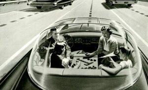 Véhicules intelligents et autonome - Voyage en famille