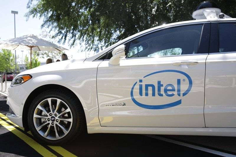 Intel : Voitures Autonomes