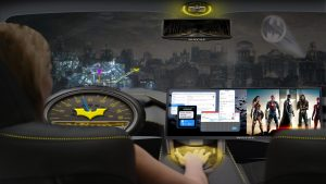 Véhicules autonomes Warner Bros./Intel