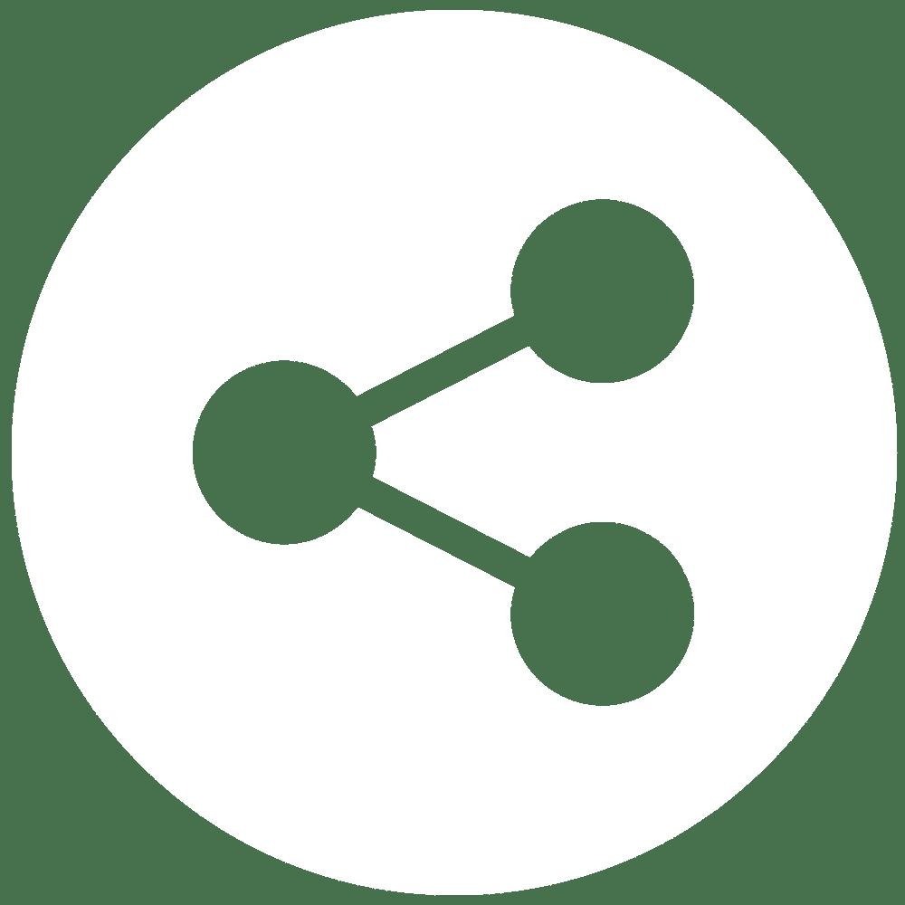 Icône partages