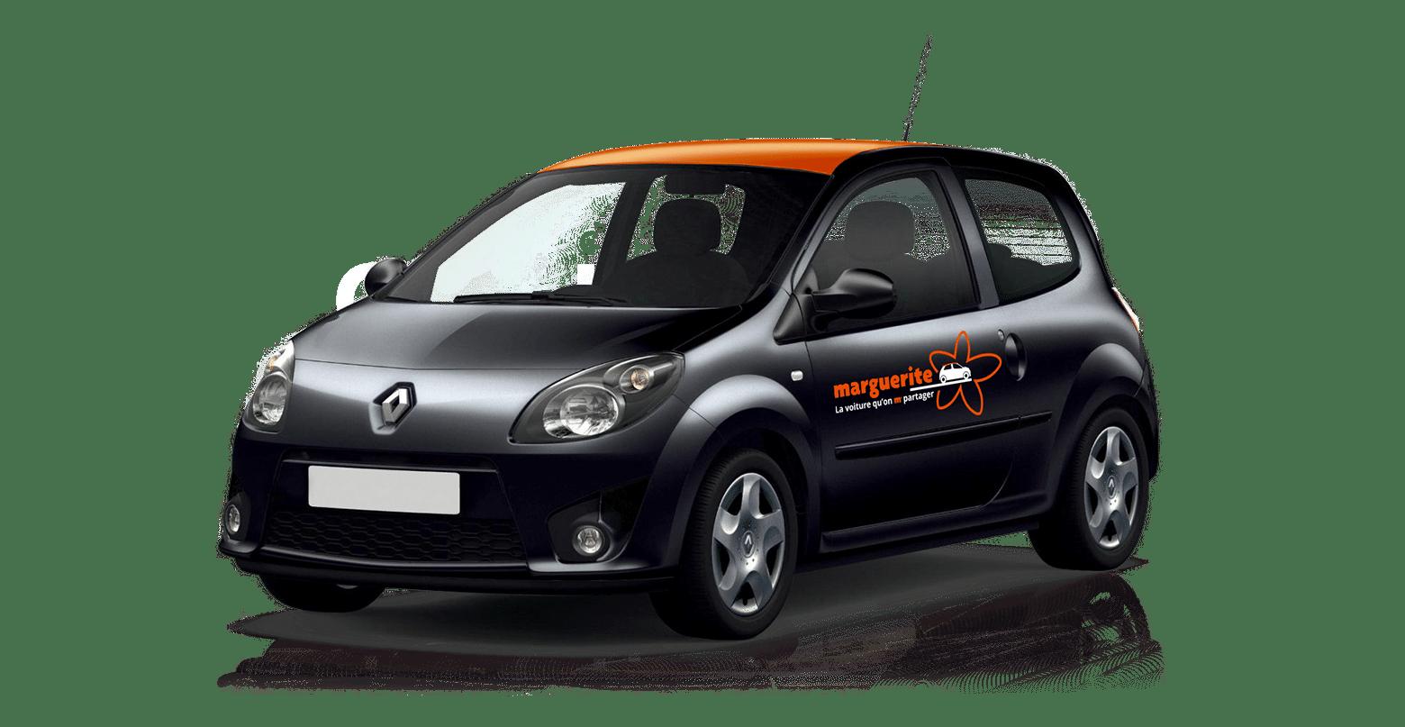 Marguerite carsharing vehicle