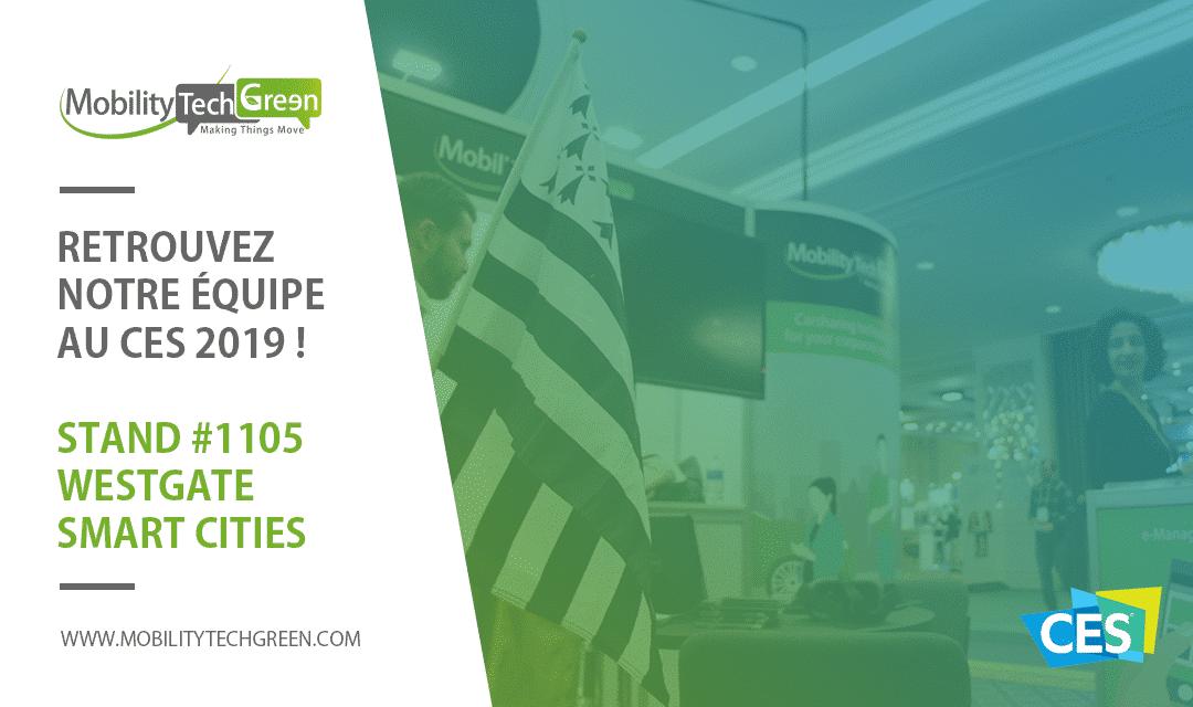 Mobility Tech Green au CES 2019 !