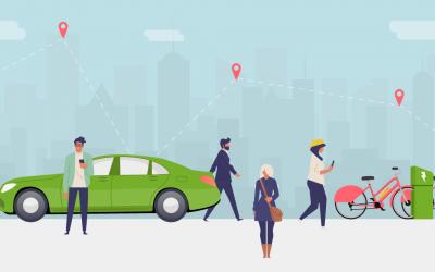 Loi mobilités : l'autopartage pour optimiser les déplacements professionnels