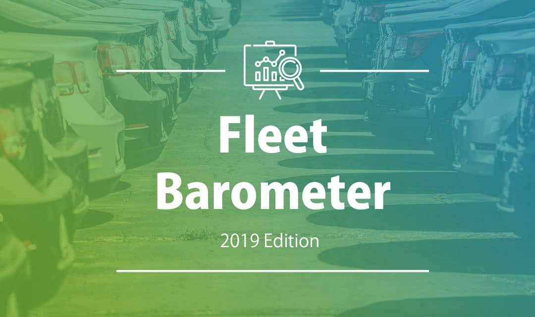 2019 fleet barometer: alternative energies and behavioral changes