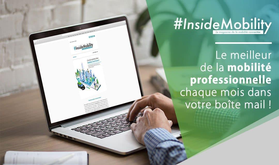 Inscrivez-vous à notre newsletter, #InsideMobility !