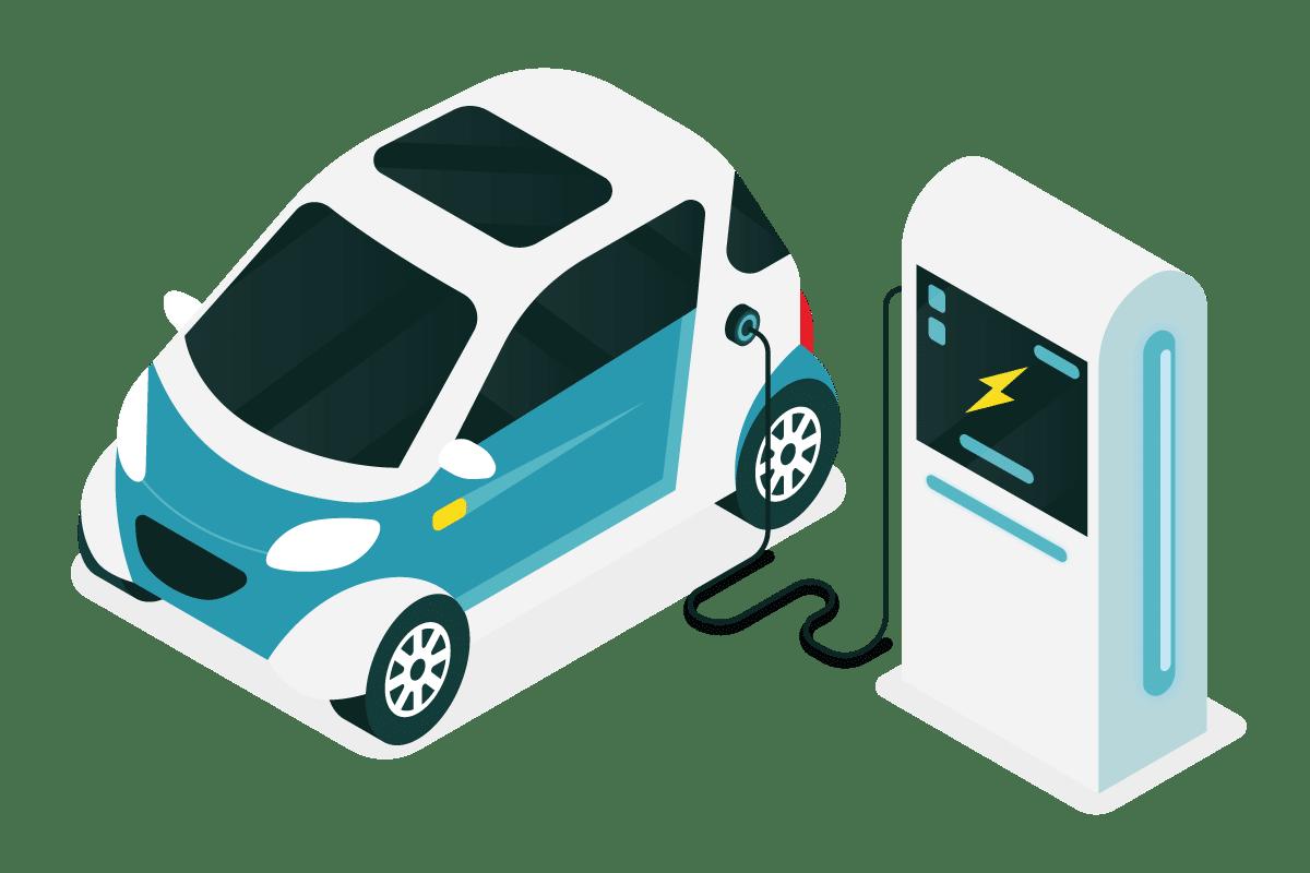 Confinement et véhicules électriques
