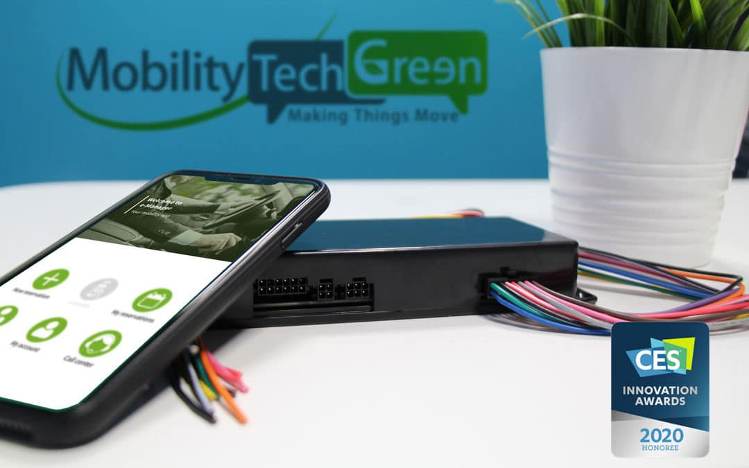 Mobility Tech Green wins the CES Innovation Award Vehicle Intelligence & Transportation