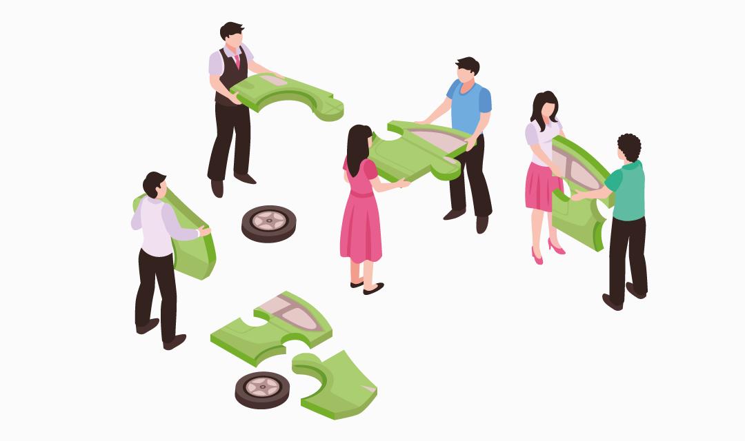 Autopartage professionnel : une mobilité adaptée même pour les petites flottes !