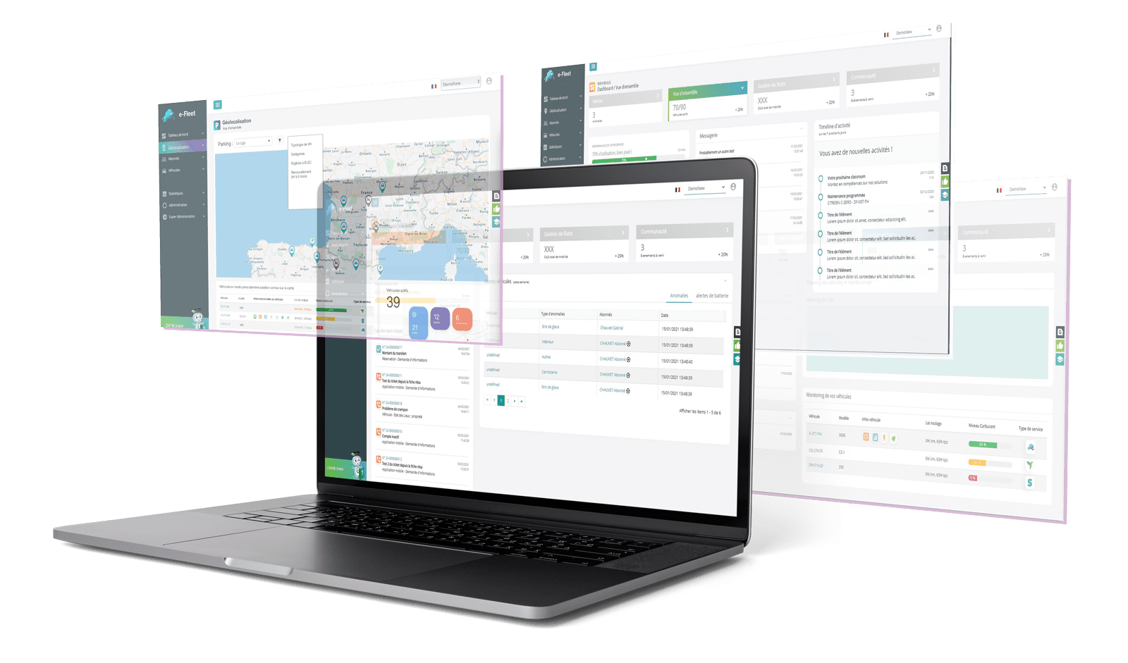 e-Fleet Interfaces